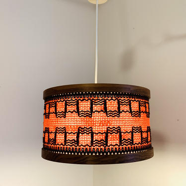 Mid Century Ceiling Fixture, Vintage Ceiling Lamp, 70s Ceiling lamp, Chandelier, Vintage Ceiling Lamp, Light Fixture by dadacat