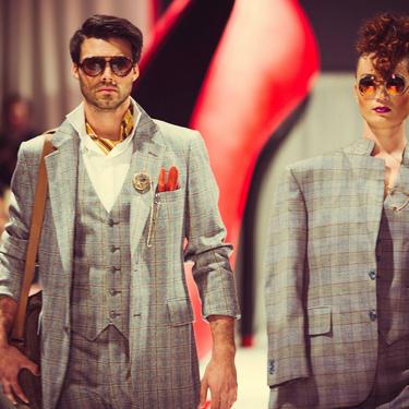 Vintage 1970's Men's 3 piece suit retro three piece suit for men or women's suit MOD blazer sportscoat vest slacks pants  m l 34  x 32 by ShopRVF