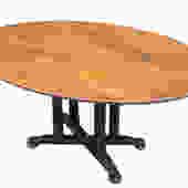Custom Oval Cherry Tables5' x 42
