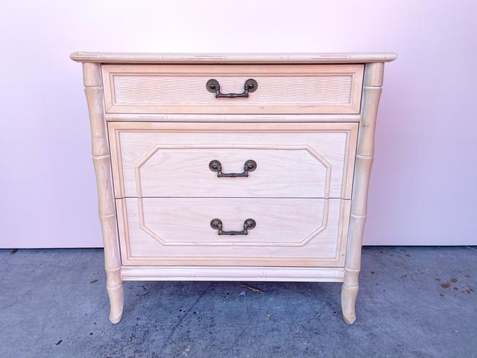 Faux Bamboo Chest