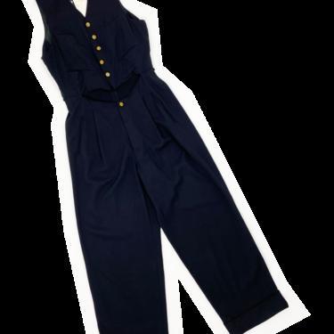 Jean Paul Gaultier Homme cutout front jumpsuit