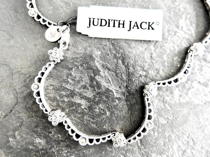 Vintage Judith Jack Sterling, Marcasite New with Tags Necklace by LegendaryBeast