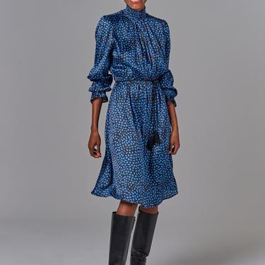Stella Dress | Cornflower Spots