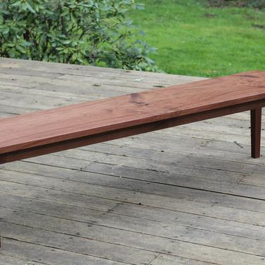 4 Leg Bench by MakersWoodworks