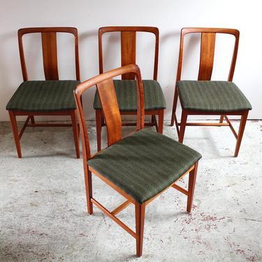 Swedish Dining Chairs in Teak