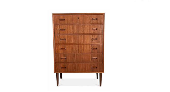 Vintage Danish Mid Century Teak Dresser - Tale by LanobaDesign