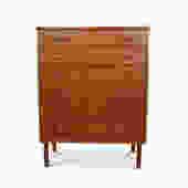 Teak Orange Peel Handle Dresser -
