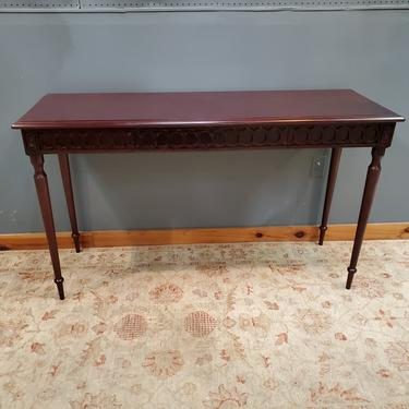 Hickory Chair Console Table (2 of 2 available)