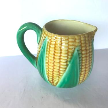 Vintage Corn of the Cob Creamer - Ceramic by JoAnntiques
