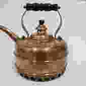 Vintage English Simplex Beehive copper kettle