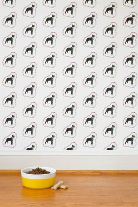 Rainbow Boston Terriers Tea Towel