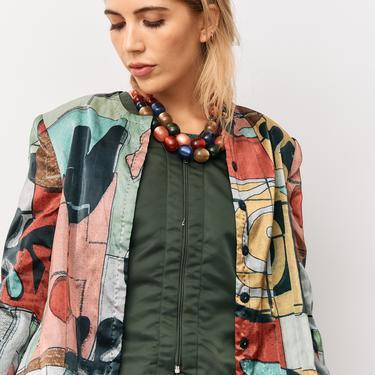 Giorgio Armani Printed Jacket, Size 48