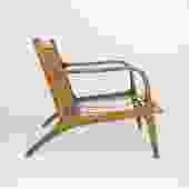 Danish Armchair in the Style of Adrian Pearsall