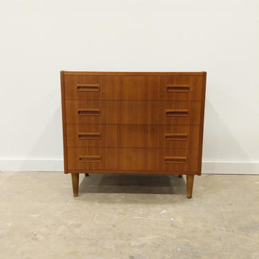 Vintage Danish Modern Teak Low Dresser / Chest by Westergaard by FarOutFindsNYC