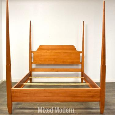 Solid Maple Queen Bed by mixedmodern1
