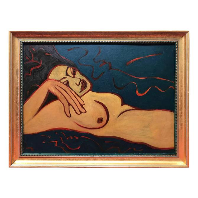 Nude Oil Painting by Barbara Dodge
