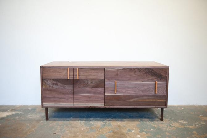 "Ellie 60"" Walnut Media Cabinet - Dylan Design Co. Credenza by dylangrey"