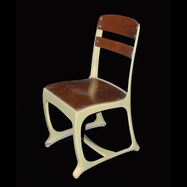 Yellow American Seating Church/School Chair