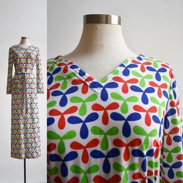 1970s Longsleeve Maxi Dress by milkandice