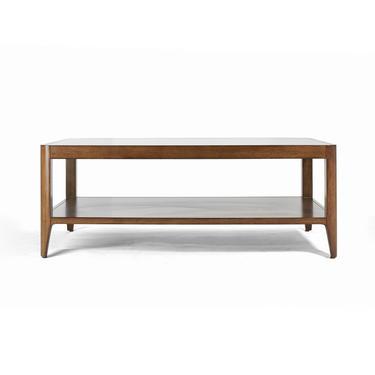 Walnut Mid Century Coffee Table, Mid Century front table, Mid Century sofa table  - Bella Collection - Ekais by Ekais