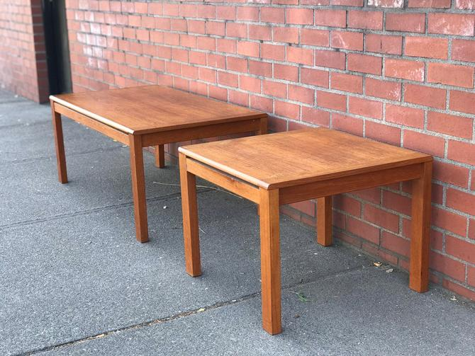 Free Shipping Within US - Vintage Danish Mid Century Modern Table Stand by BigWhaleConsignment