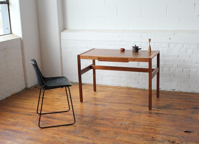 Restored Jens Risom Walnut Writing Desk by NijiFurnishing