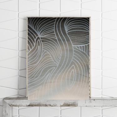 "FREE Shipping Acrylic Art 9""x12"" Fine Art Paper Gift Original Painting Abstract Minimalist Modern Art Contemporary Artwork Commission Art by ArtbyDinaD"