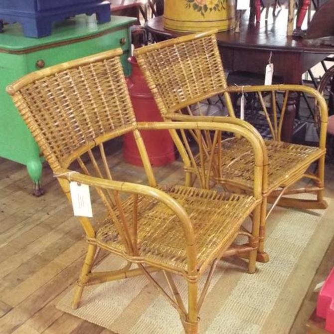 Porch Perfect: Vintage Bamboo 3-Piece Set