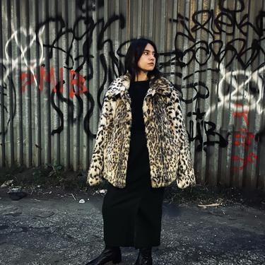 Faux Leopard Fur