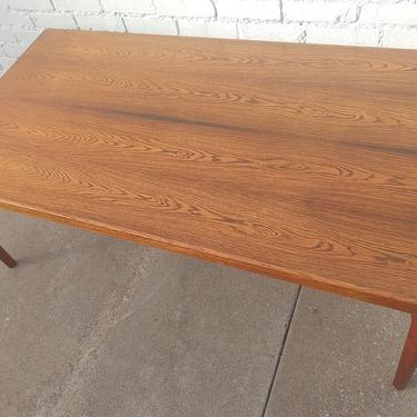 Mid Century Danish Modern Teak Coffee Table by Velje Stole by VintageVaultTulsa