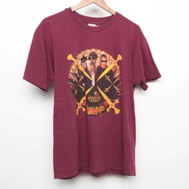 vintage ZZ Top 90s tour metal rock tour t-shirt XXX tour t-shirt -- size large by CairoVintage