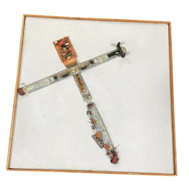 """Abstract """"Stations of The Cross"""" Untitled 4 Artography Wall Sculpture by Pasqual Bettio by HarveysonBeverly"""