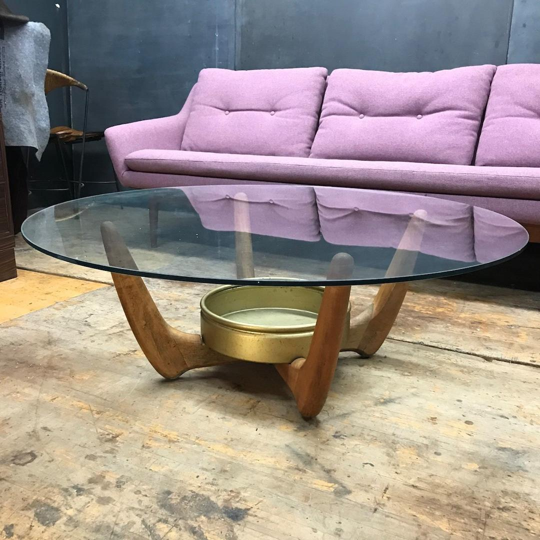 Lane Pearsall Style Mid Century Modern Coffee Table: Vintage Adrian Pearsall Lane Succulent Planter Coffee