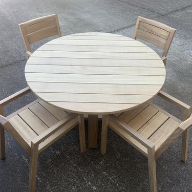 Outdoor Teak Dining Arm Chair by MarcoBogazziStore