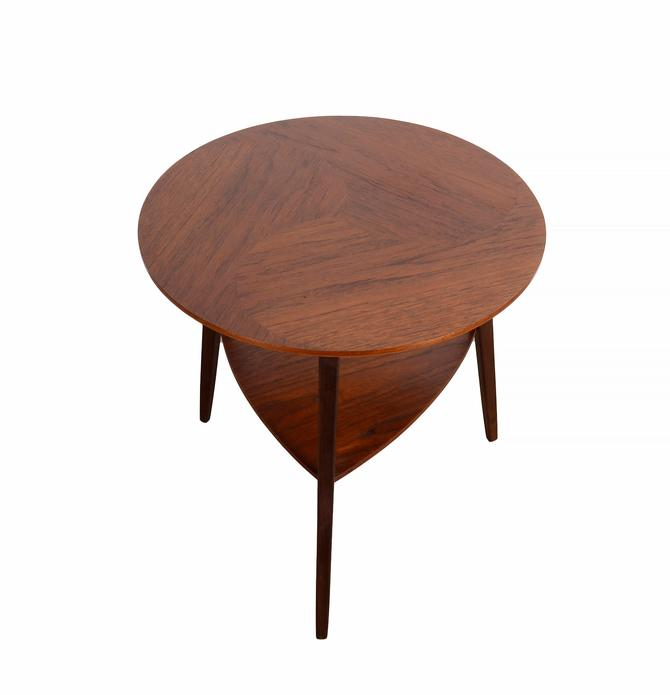 Teak Round Table by  Danish Modern by HearthsideHome