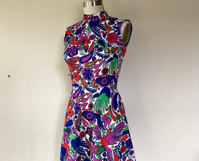 1960s Mod mini dress by VelvetGoldmineShop
