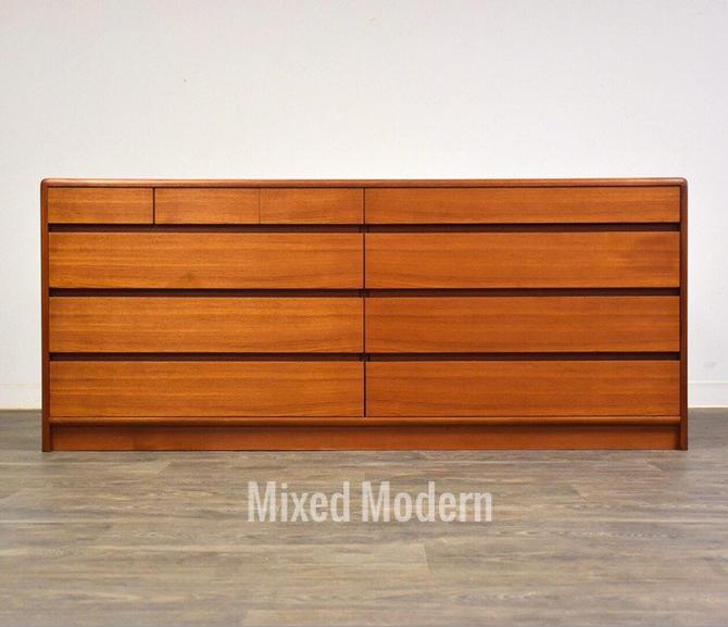 Teak Dresser by Nordisk Andels-Eksport by mixedmodern1