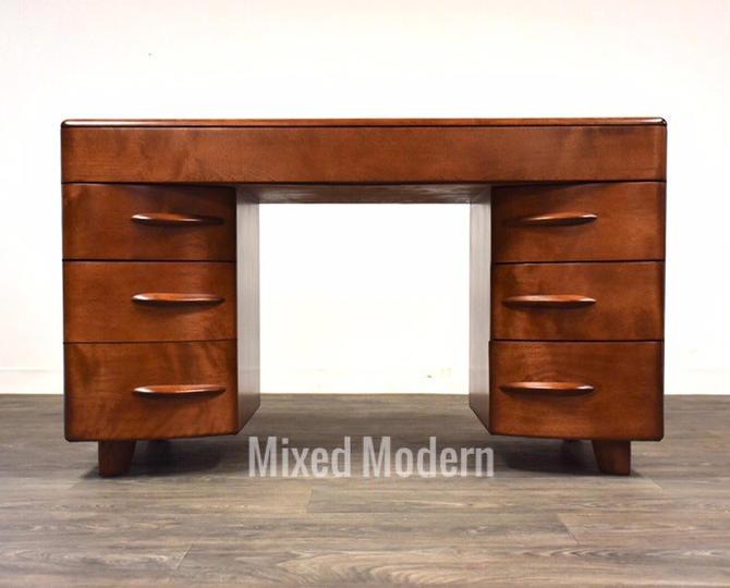 Heywood Wakefield Solid Birch Desk by mixedmodern1