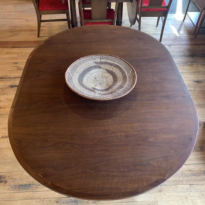Mid-Century Walnut Dining Table w/ Leaf