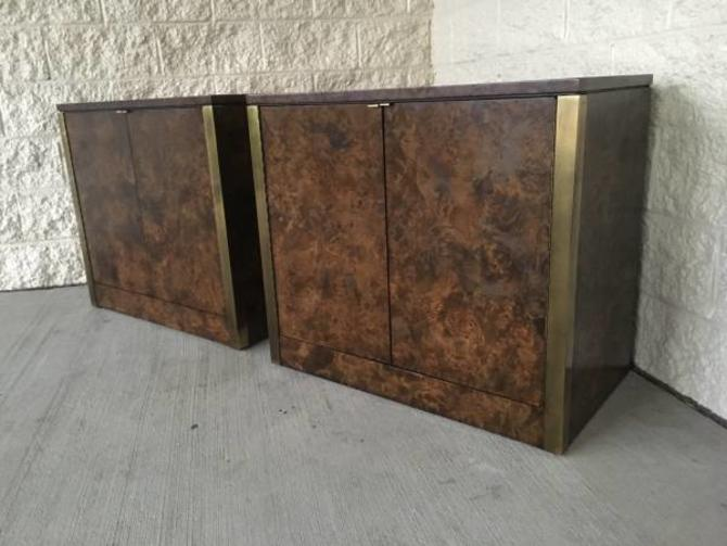 #441: Pair of Mid Century Cabinets / Sold as pair or separately.