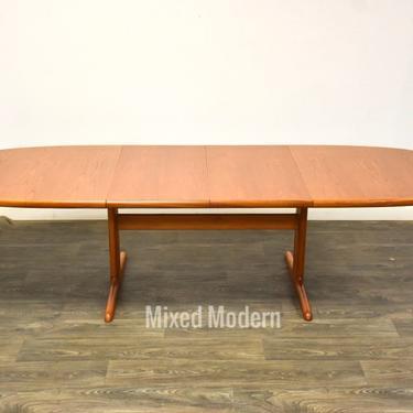 Danish Teak Extendable Dining Table by mixedmodern1