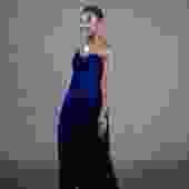 Richy Rich Blue Velvet Dress
