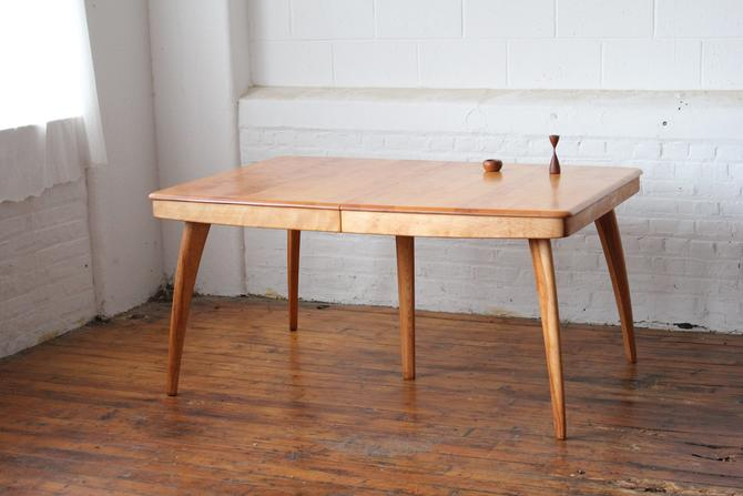 Restored Heywood Wakefield M789G Expandable Dining Table by NijiFurnishing