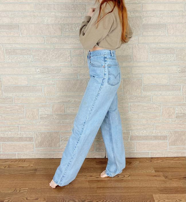 Levi's 550 Vintage Jeans / Size 30 by NoteworthyGarments