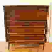 Mid Century Modern Tall Dresser