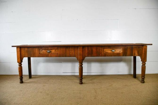 Antique Country Store Post Office Counter | Kitchen Island | Retail Fixture