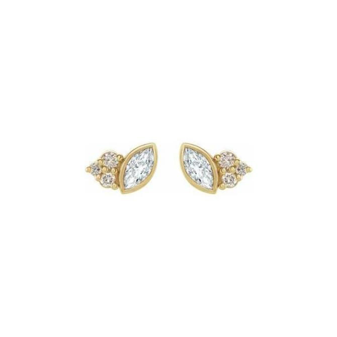 Marquise Cluster Earrings