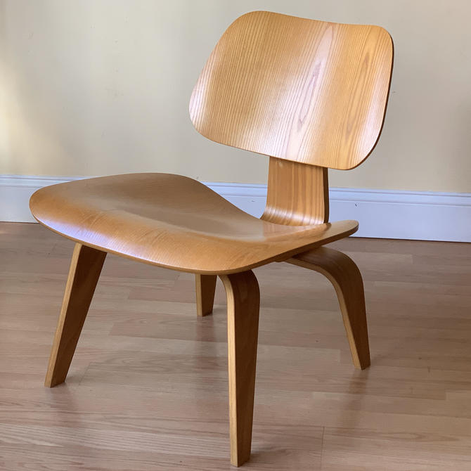 Herman Miller Eames LCW Lounge Chair in Ash by ASISisNOTgoodENOUGH