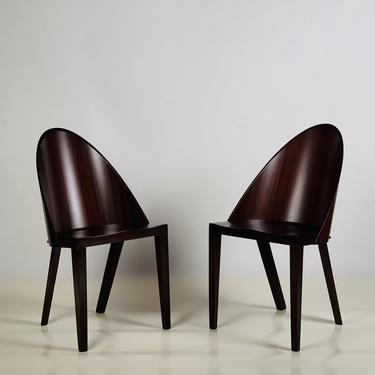 Rare Pair of Philippe Starck Chairs from the Royalton Hotel, NYC