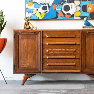 Jack Van Der Molen Oak Mid-Century Modern Buffet by formermodern